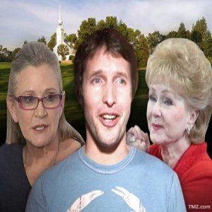 Carrie Fisher/James Blunt/Debbie Reynolds (TMZ.COM)